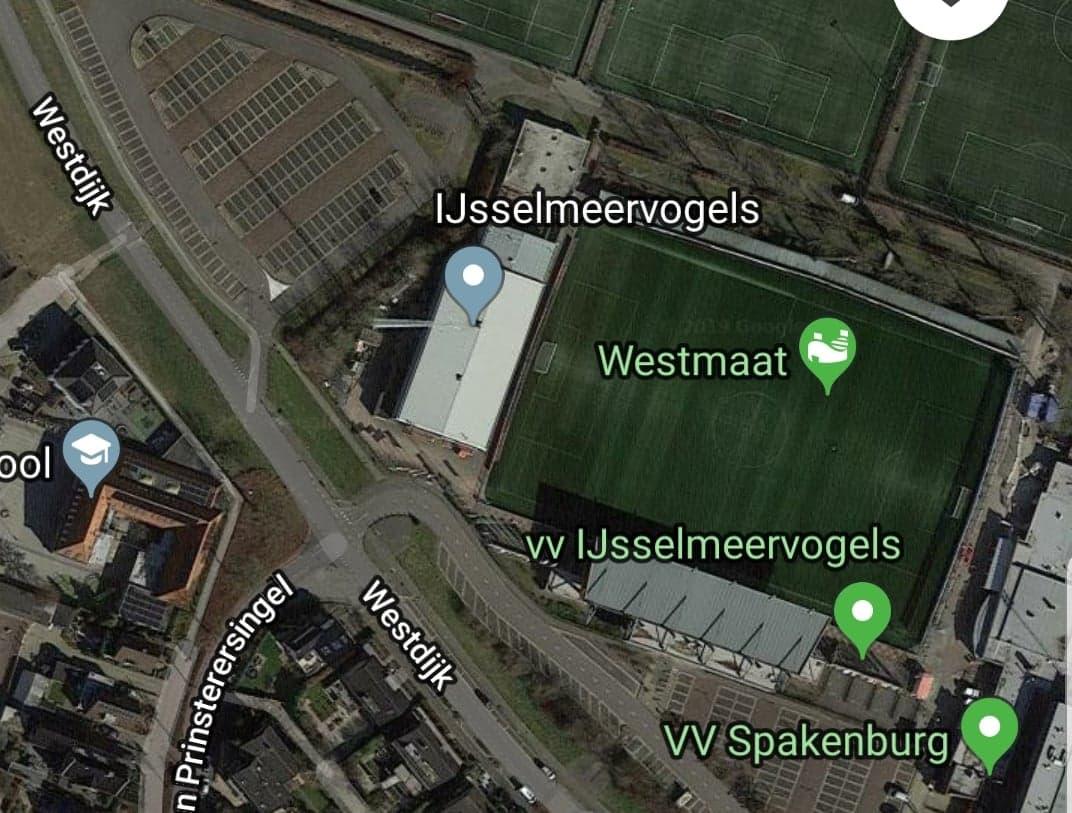 Sportpark de Westmaat Parkeerplaats De Westmaat P2